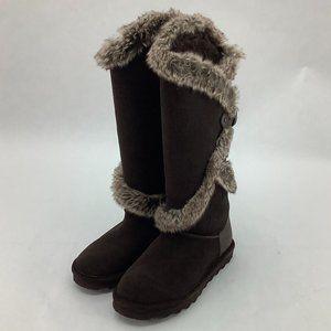 BearPaw | Women's Tall Boots | Sheilah | Chocolate